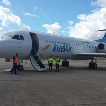 Expanded pre-clearenace for InselAir passengers flying from Aruba to Miami