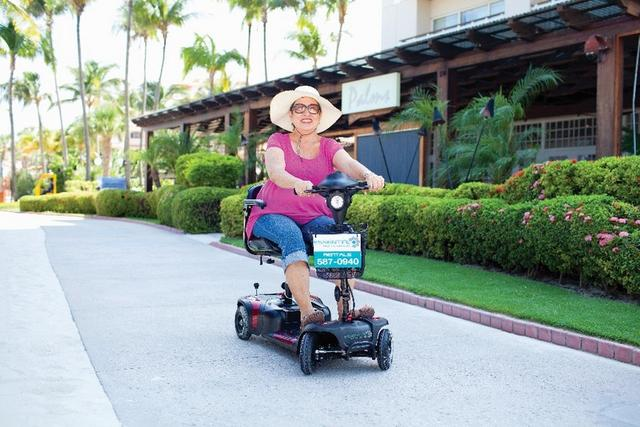 Essential Health Supplies in Aruba give some important tips in Selecting a Power Mobility Scooter when Traveling