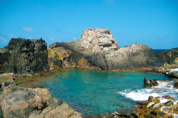 Aruba S Natural Pool Is Named As One Of The World Twelve Best Spots For Wild Swimming