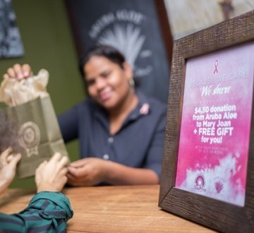 Aruba Aloe invites the community to team in the fight against breast cancer