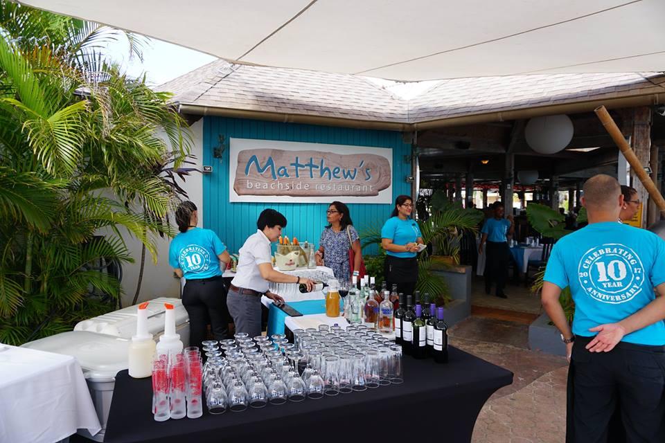 Matthews Aruba Beachside Restaurant Celebrates 10 Year Anniversary!