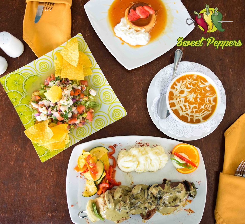 Locals Enjoy Special Menu at Sweet Peppers Aruba!
