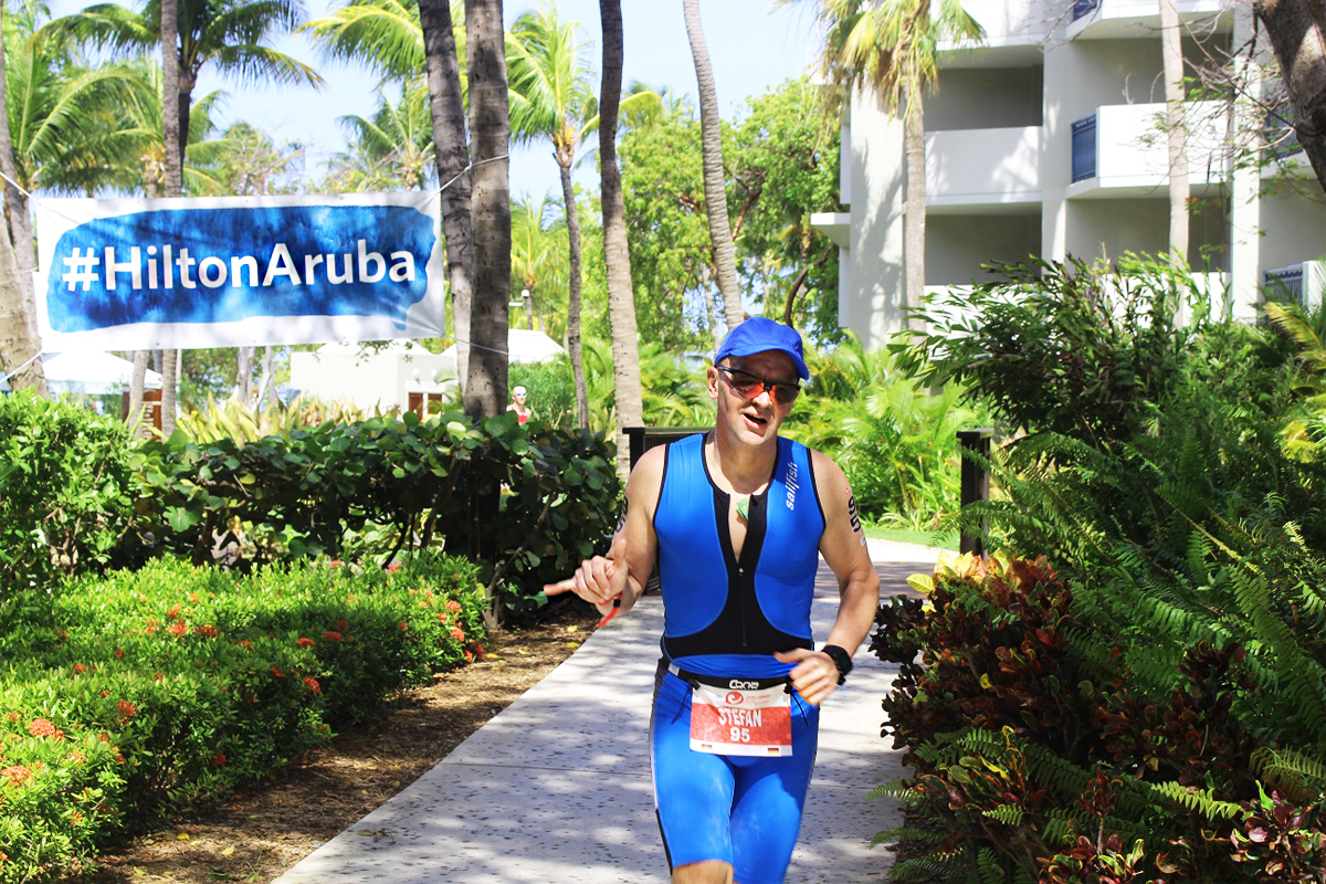 The Hilton Aruba Caribbean Resort & Casino welcomes the International Challenge Aruba Triathlon.