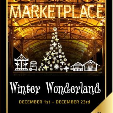 Walk into a Christmas Winter Wonderland with Renaissance Marketplace!