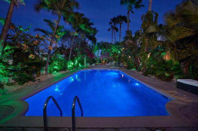 Paradera-Park-Pool-view-East-at-night-Aruba-News-VisitAruba