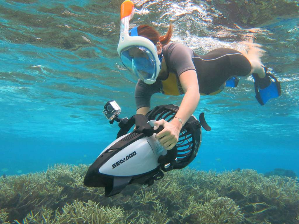 Octopus Aruba Introduces New Power Snorkeling