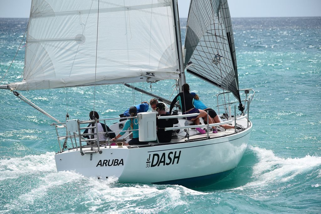 Team Dash Wins the 10th Aruba International Regatta