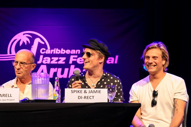 Kicking Off Aruba's 2018 Caribbean Sea Jazz Festival!