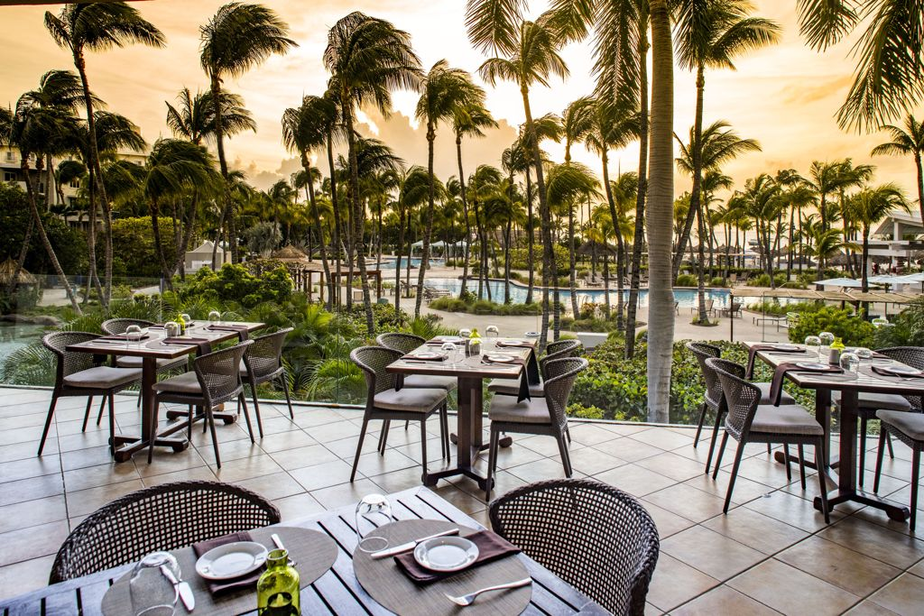 Celebrate your Love with an Exquisite Wine Pairing Dinner at Sunset Grille of Hilton Aruba Resort