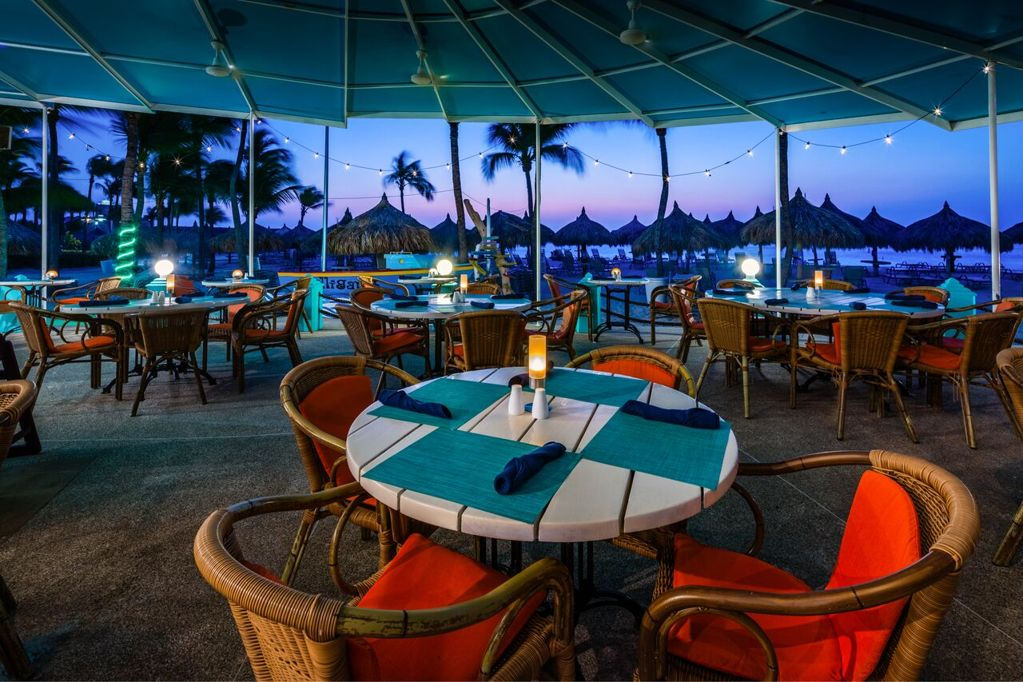 Gilligan's at the Beach is Now Open for Dinner at Hilton Aruba Resort