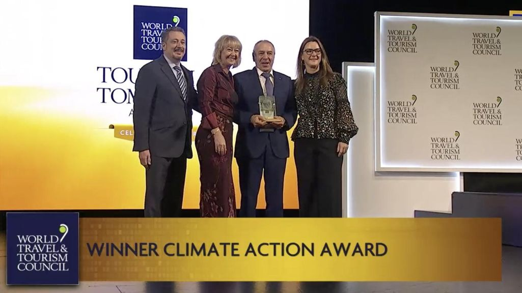 World Travel & Tourism Council Awards Bucuti & Tara Beach Resort for Achieving Climate Carbon Neutrality