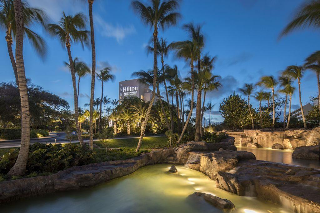 "Hilton Aruba Caribbean Resort & Casino Named 2018 ""Hotel of the Year"" at Hilton's Americas Leadership Conference"