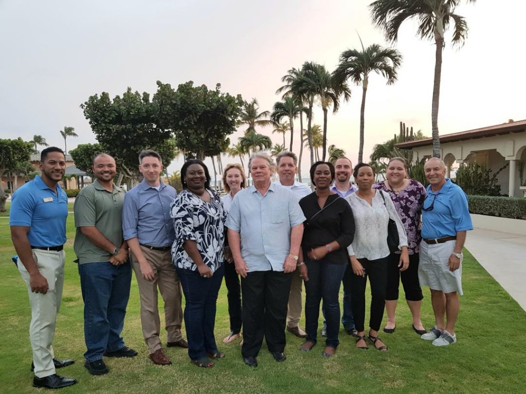 Bucuti & Tara Beach Resort Honored with Visit from Cayman Islands Minister of Tourism