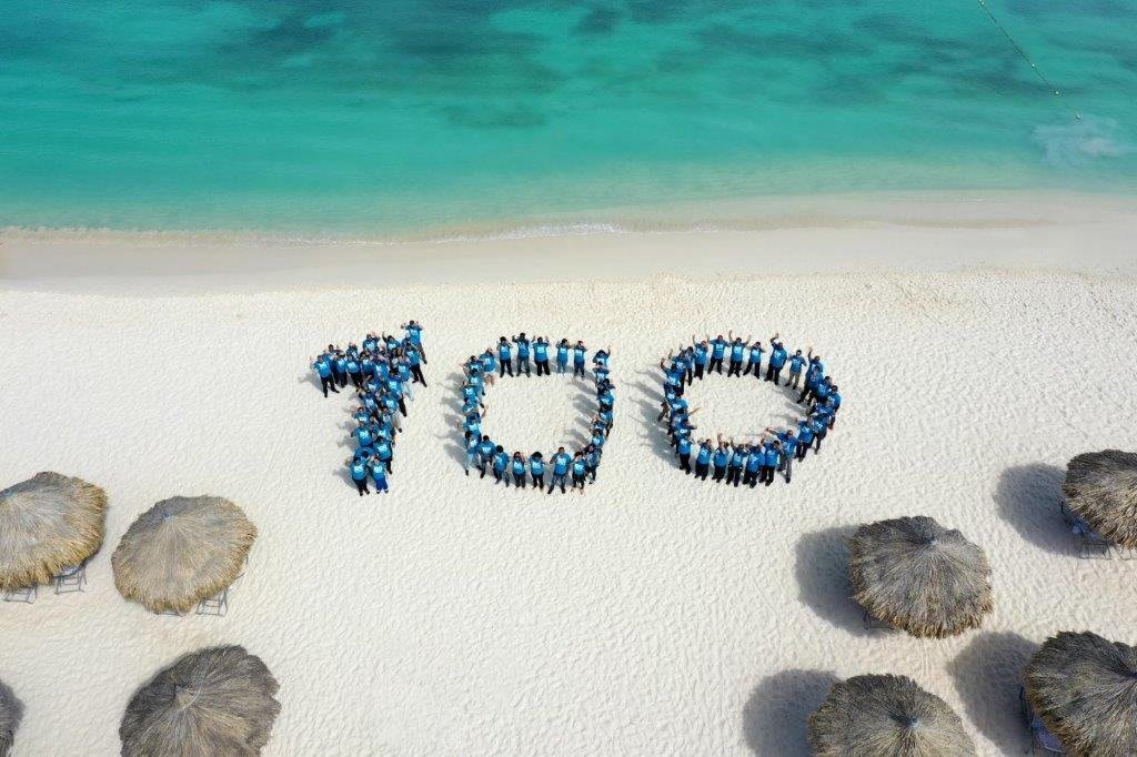 Hilton Aruba Celebrates Brand's 100 Years of Hospitality