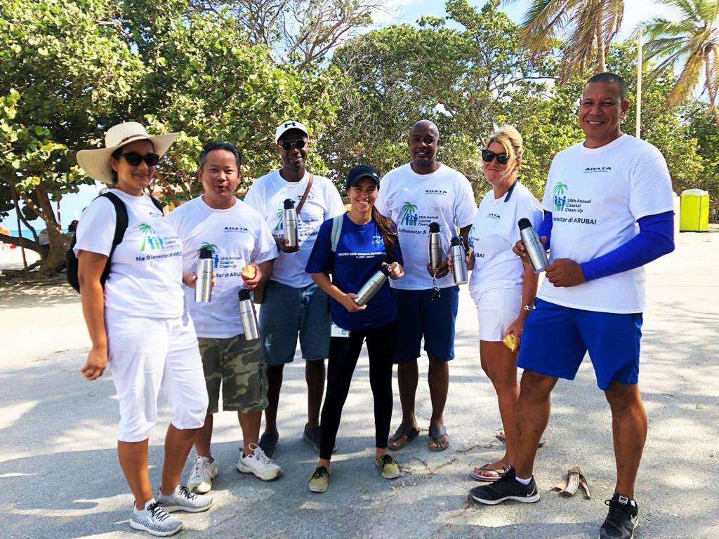 Bucuti & Tara Aruba Beach Resort Participates in AHATA's 18th Annual Coastal Clean-Up
