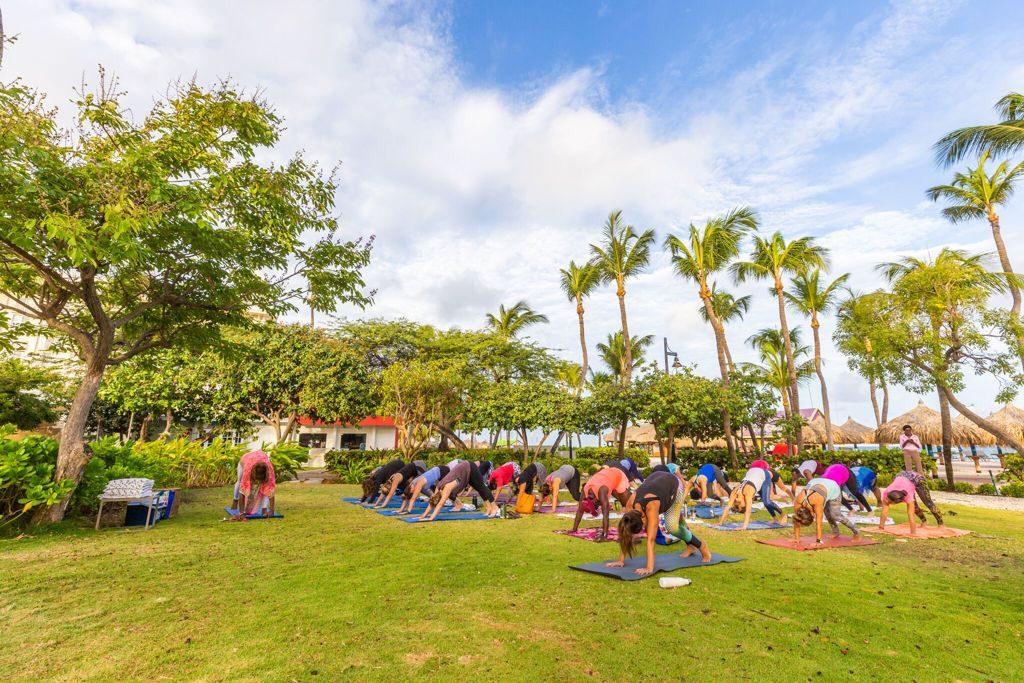 Hilton Aruba Caribbean Resort Wraps Up the 4th Annual Aloe Wellness Month
