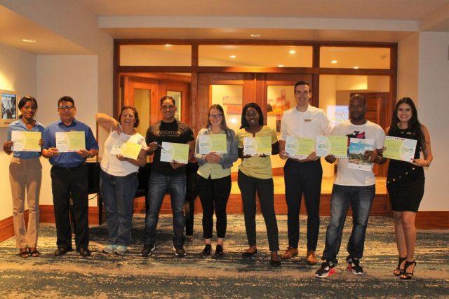 Hilton Aruba Graduates with Zjeito