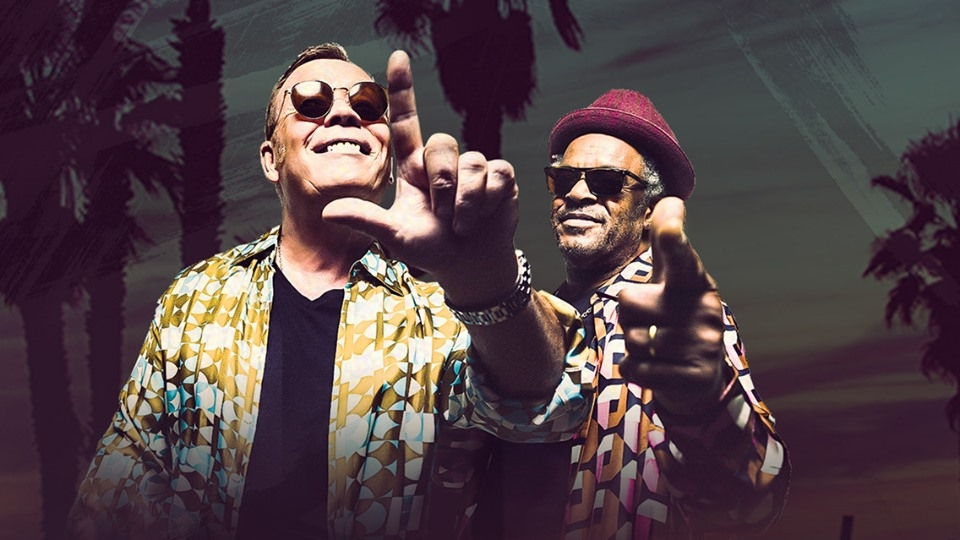 UB40 ft Ali Campbell & Astro and Others in AITO Concert