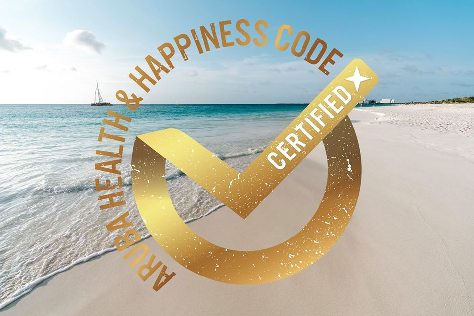 ARUBA HEALTH & HAPPINESS CODE GOLD CERTIFIED