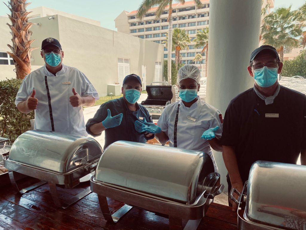 Hilton Aruba Celebrates Five Successful Years on Aruba with a Team Members Appreciation Lunch