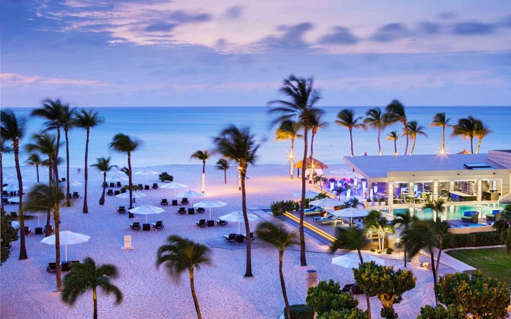 One of the Top 10 Romantic Hotels in the World is in Aruba