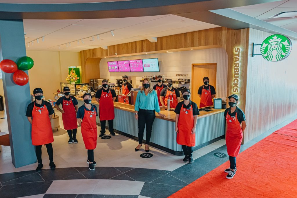 Starbucks Aruba opens its fifth store bringing its unmatchable Starbucks Experience now at Gloria Plaza