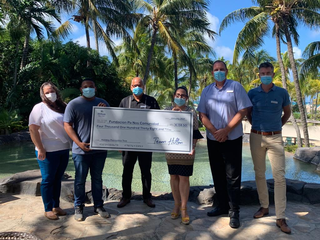 The Hilton Aruba, Giving Back to The Community
