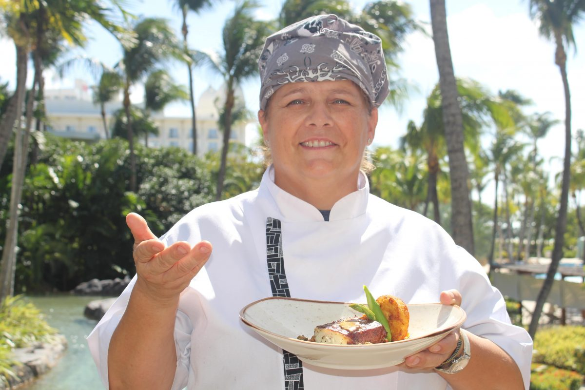 International Women's Day Menu at the Sunset Grille, March 8th to 12th