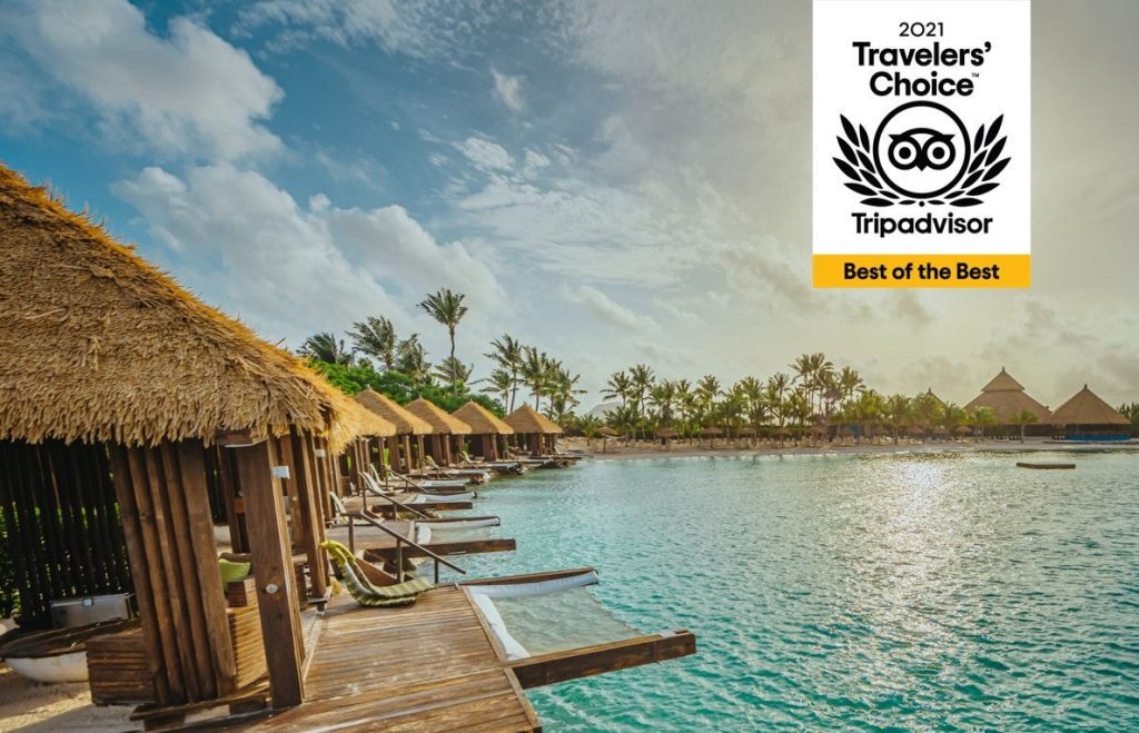 Renaissance Aruba Resort & Casino Receives Best of The Best Award by TripAdvisor Travelers for The Second Consecutive Year