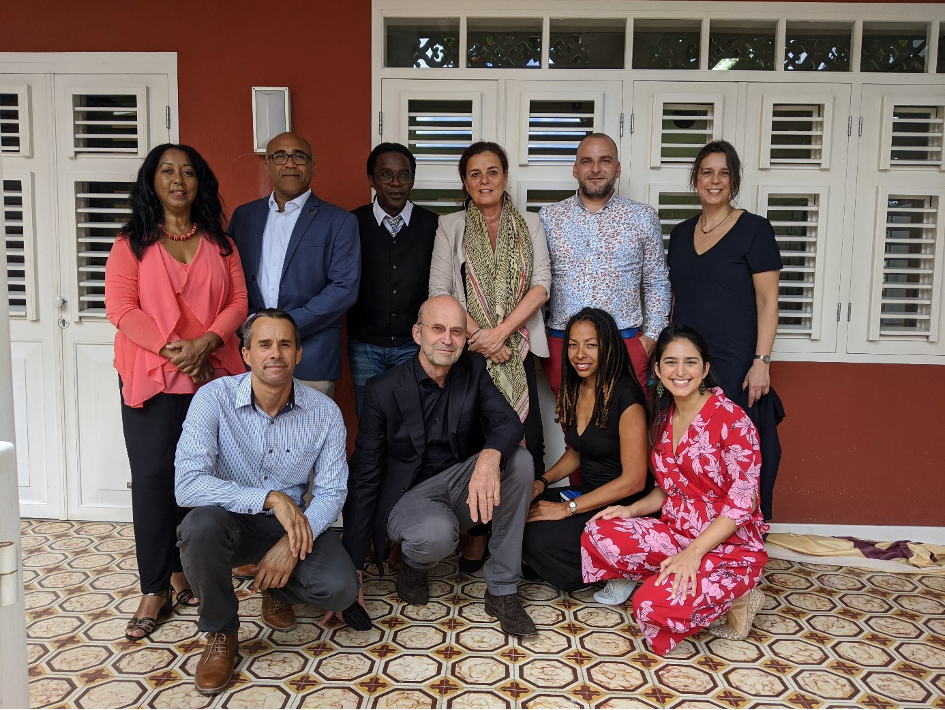 Three Dutch Caribbean PhD candidates in the NWO Island(er)s at the Helm project