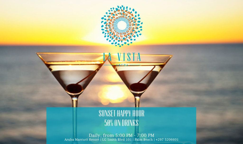 La Vista Sunset Happy Hour
