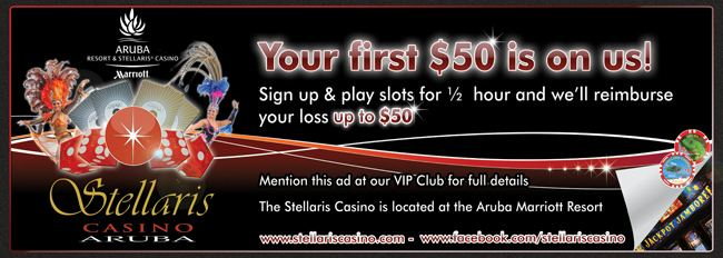 Your first $50 is on us...