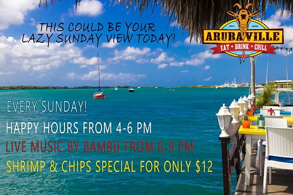 Shrimps and Chips Special + Happy Hour + Live Musi