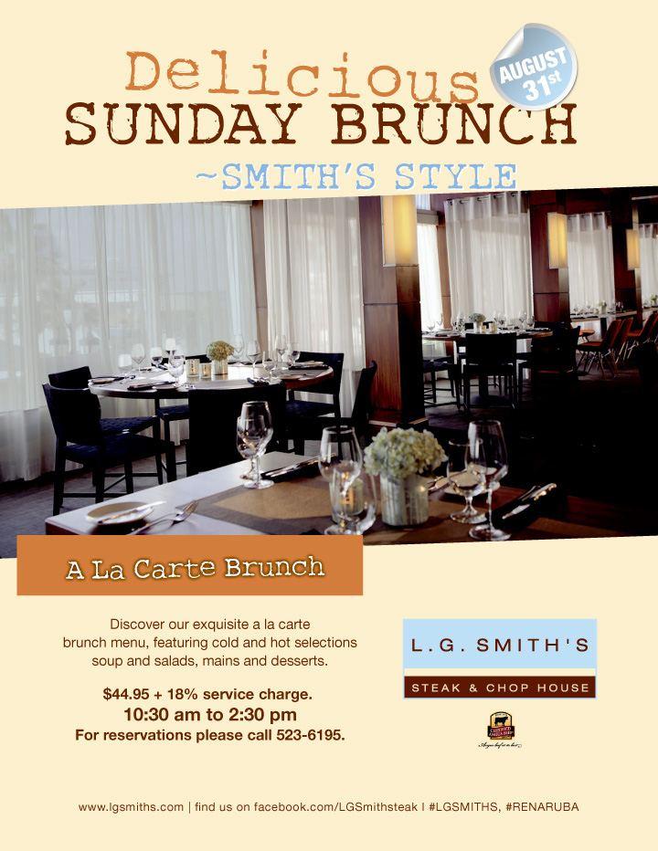 New Sunday brunch - Smith's Style