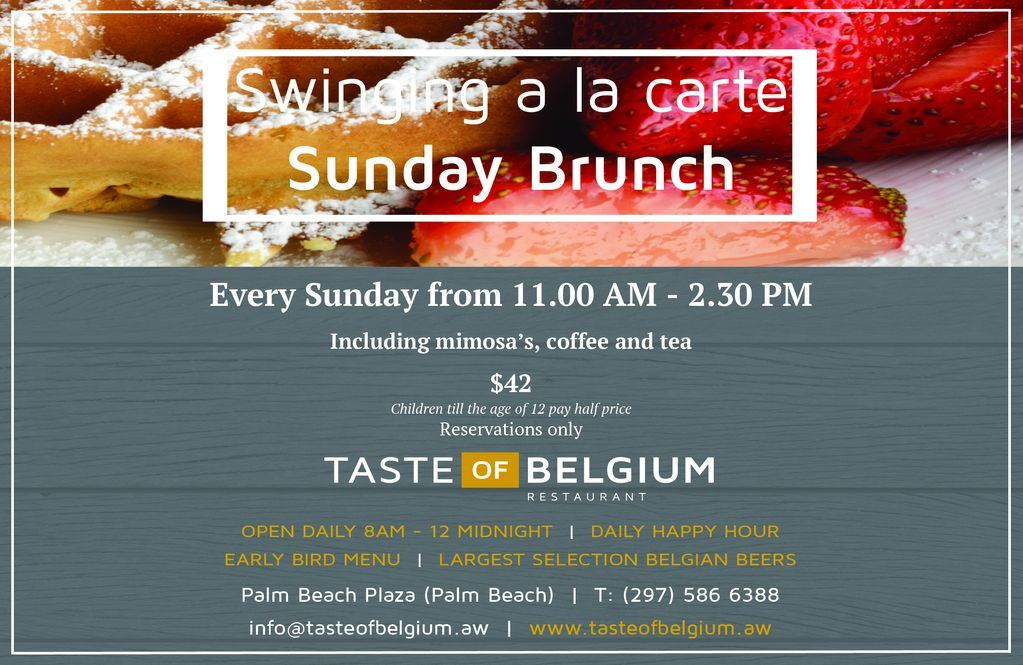 Sunday Swinging A-La-Carte Brunch