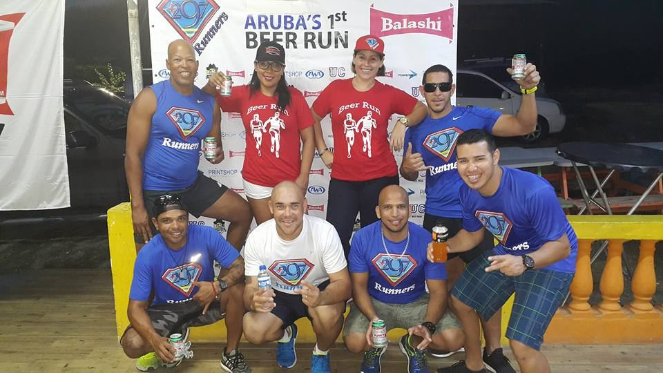 Aruba's 5KM Beer Run