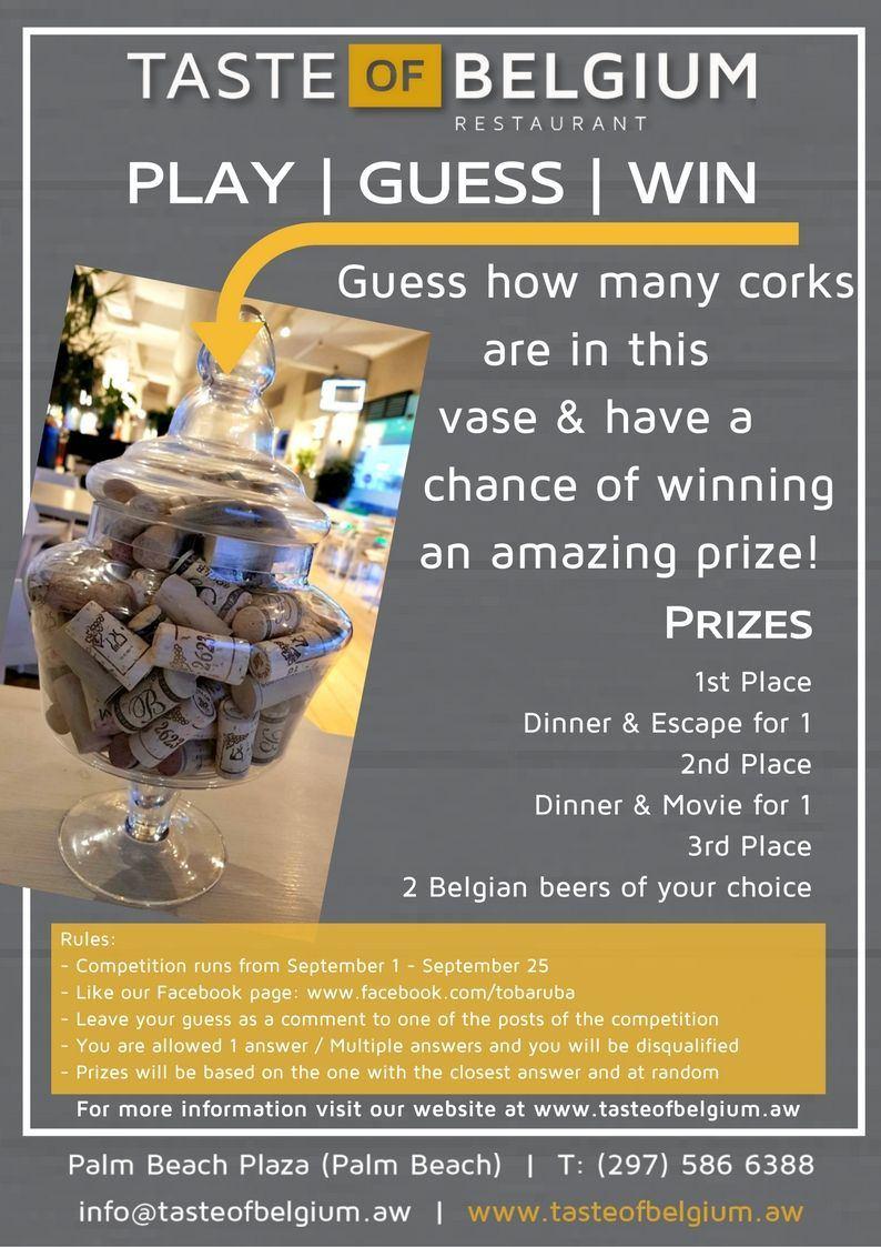Taste of Belgium's Contest Special