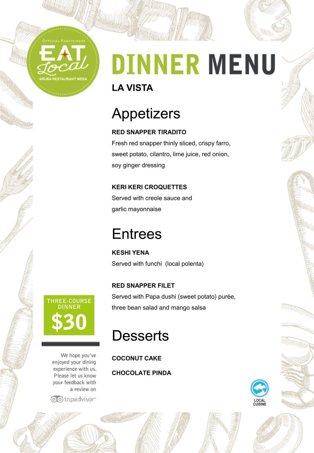La Vista - Eat Local 2017