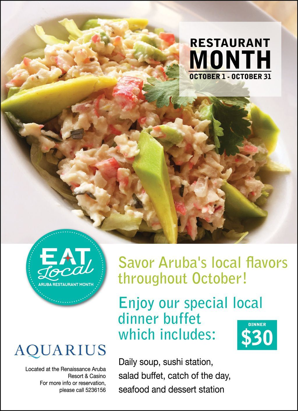 Aquarius - Eat Local 2017