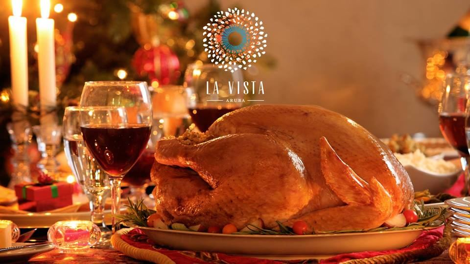 La Vista Treats Aruba with Thanksgiving Dinner Buffet!