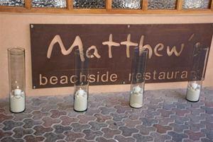 Matthew's Beachside - Restaurant