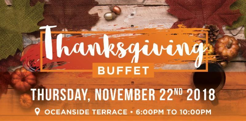 Holiday Inn Aruba's Thanksgiving 2018 Oceanside Dinner Buffet