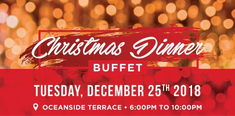 Celebrate Christmas 2018 in Aruba with Holiday Inn's Oceanside Dinner Buffet!