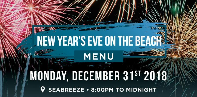 New Year's Eve on the Beach at Holiday Inn