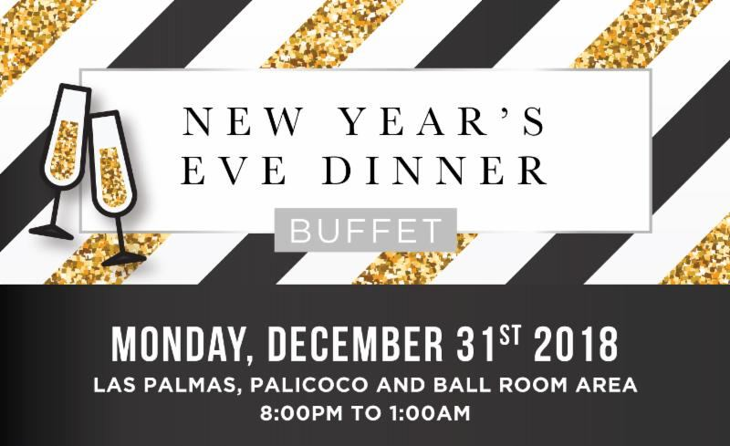 New Year's Eve Dinner Buffet & Party at Holiday Inn