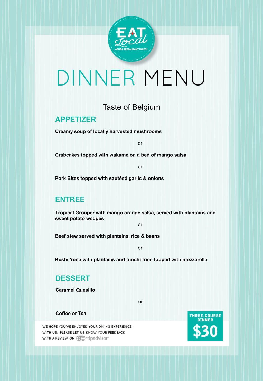 Taste of Belgium - Eat Local 2018