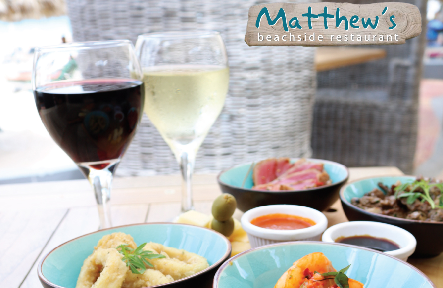 Tapas & Wine for Two at Matthews