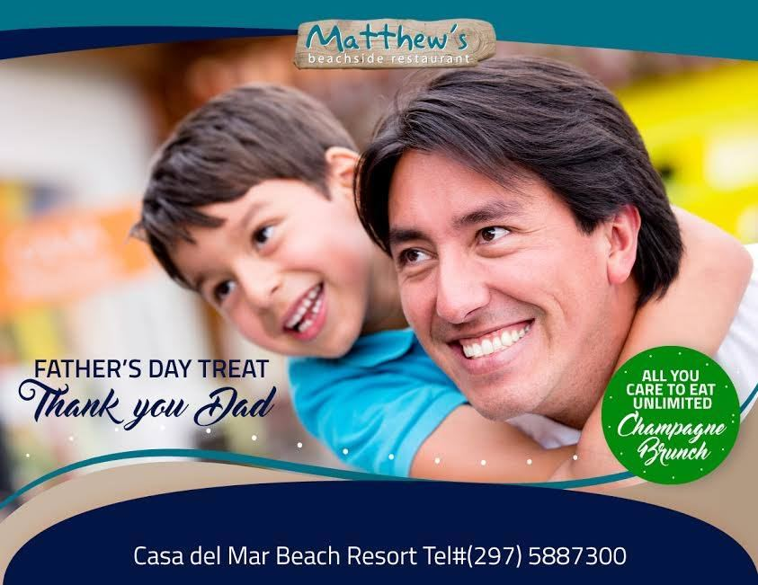 All You Care to Eat Father's Day Brunch at Matthews!