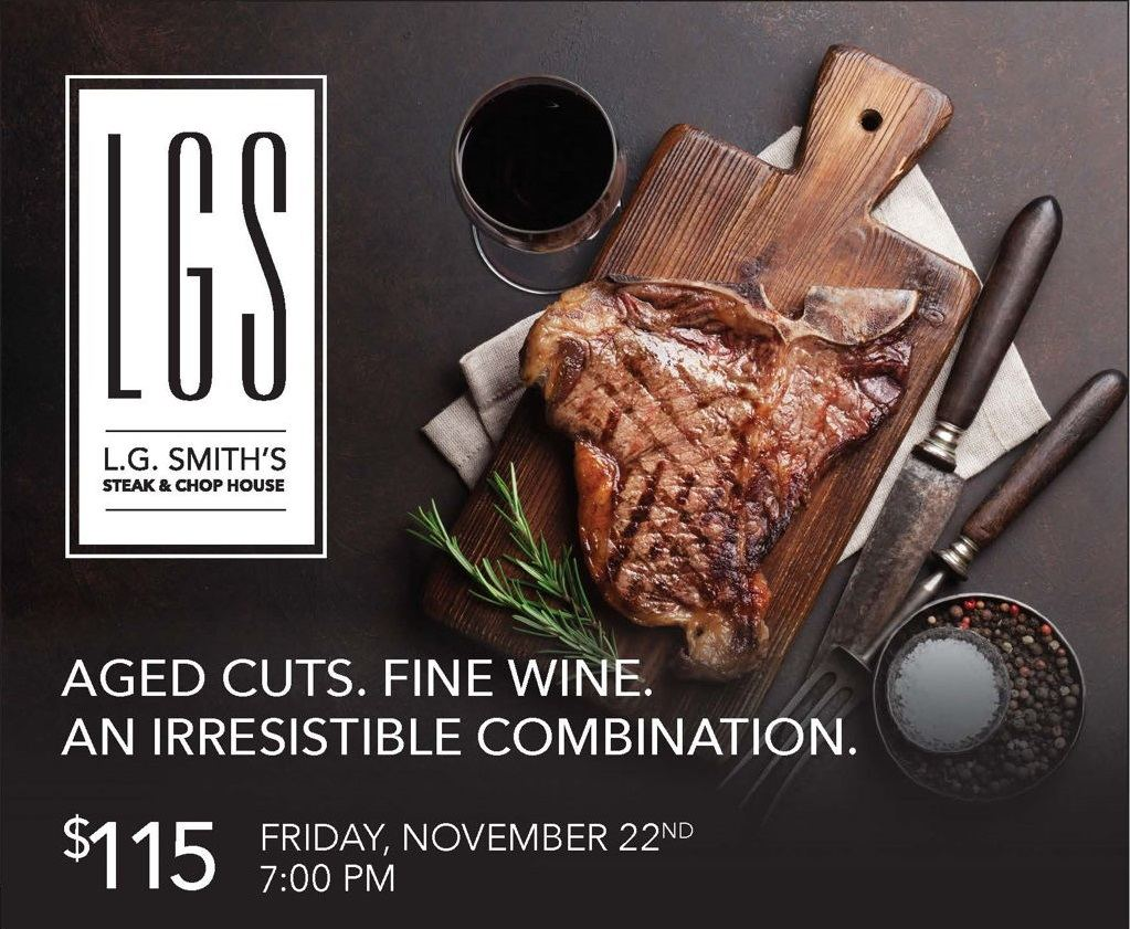 Aged Cuts and Fine Wine at L.G. Smith's