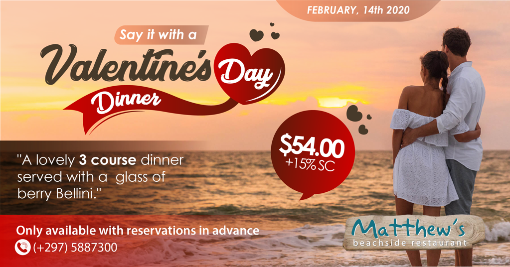 Say it With a Valentine's Day Dinner at Matthews